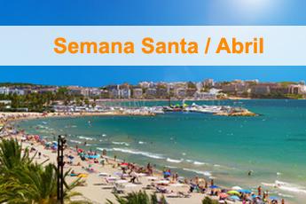 Vacaciones en Abril, Promoción Descuento -10% -15% -20%