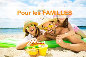 Nos campings pour les familles, Vos enfants vont adorer !