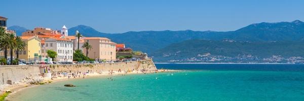 Campsites in in Corsica