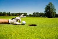 Golf campsites