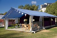 Le Bois d'Amour, Canvas tent without bathroom facilities
