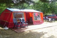 Les Voiles d'Anjou, Canvas Tent without bathroom facilities