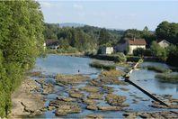 Les Pêcheurs, Pont de Poitte