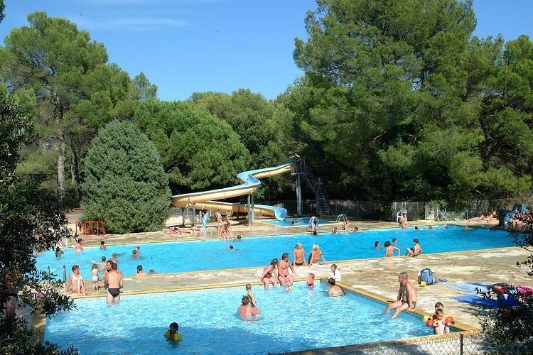 Camping La Pierre Verte - Parc aquatique