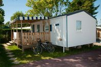 La Guichardiere, Mobile home with terrace