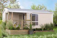 Kost-Ar-Moor, Mobil Home Terrasse (tarif 4 personnes)