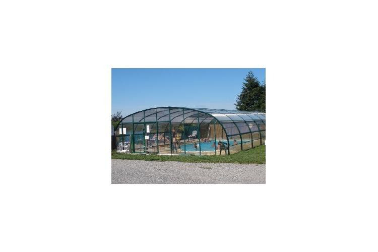 Camping Domaine Maevag - Piscine couverte