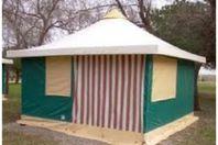 Spa Mer et Soleil, Tente Toilée sans sanitaires
