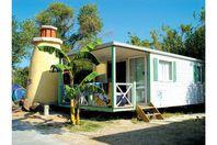 Spa Mer et Soleil, Mobil Home Terrasse