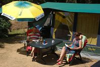 Playa Brava, Canvas tent without bathroom facilities
