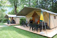Les Airelles, Canvas tent without bathroom facilities