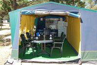 Bellevue, Canvas Tent without bathroom facilities