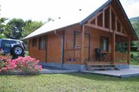 Camping du Lac, Chalet with terrace