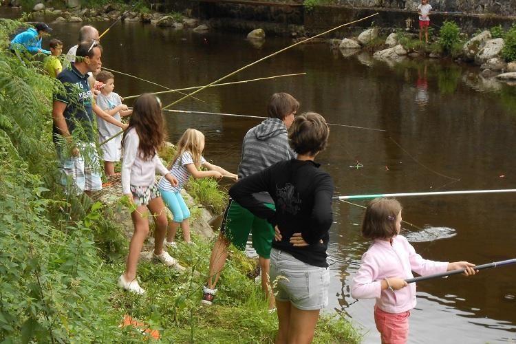 Camping Le Pas de l'Ours - Activité pêche