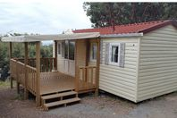 Camping de l'Ile d'Or, Mobile Home with Terrace