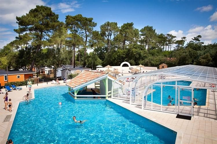 Camping Le Boudigau - Espace Aquatique