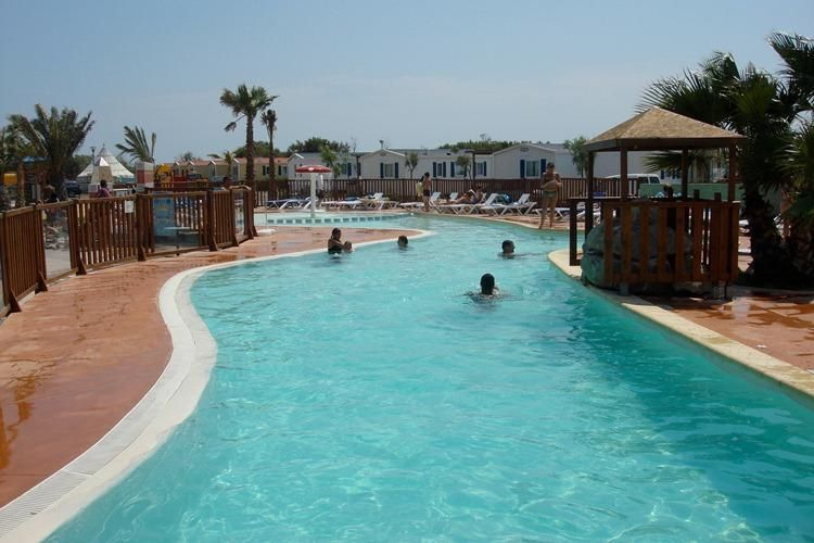 Camping Cottage Village aux Hamacs - Piscine