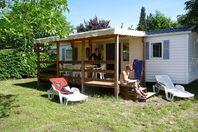 Le Domaine du Cros d'Auzon, Casa mobile con terrazza
