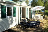 Le Caussanel, Mobil Home Terrasse