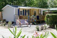 Les Tamaris, Mobil Home Terrasse