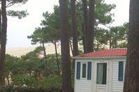 Pyla, Mobilheim mit Terrasse