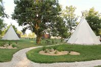 L'Escale des Châteaux de la Loire, Tipi without bathroom facilities