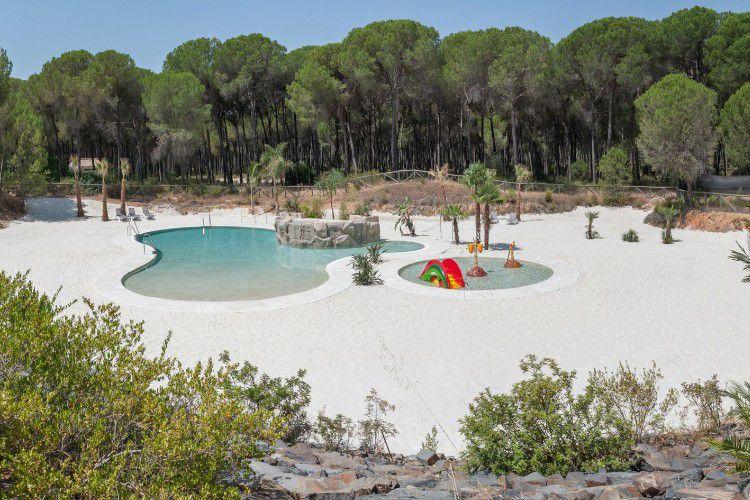Camping Donarrayan Park - Piscina playa 1