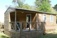 Camping Locronan, Mobilheim mit Terrasse