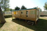 Les Bris, Mobile Home with Terrace