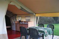 La Roche, Tente toile et bois sans sanitaires