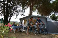 Camping de Vaudois, Stellplatz (Preis für 2 Personen)