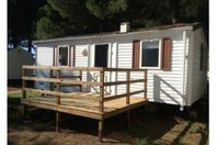 Parc Bellevue, Mobile home with terrace