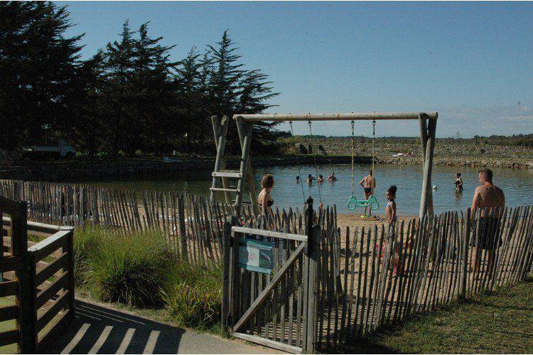 Camping Le Moulin des Oies - Bassin d'eau de mer