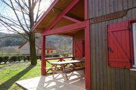 Camping du Lac de la Moselotte, Chalet mit Terrasse