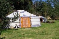 Camping des Randonneurs, Jurte ohne Sanitäranlage