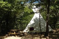 Camping des Randonneurs, Tipi without kitchen or bathroom facilities