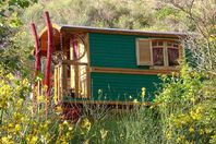 Camping des Randonneurs, Zigeunerwagen ohne Sanitäranlage ohne ausgestattete