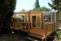 Le Brouet, Mobil Home Terrasse