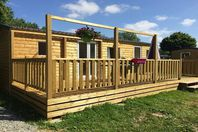 Camping du Vieux Moulin, Mobile Home with Terrace