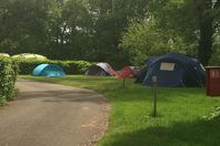Camping du Vieux Moulin, Pitch for a tent/caravan (rates for 2 people)