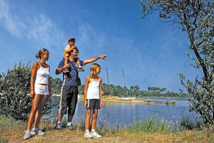 Camping Navarrosse - Vue sur le lac