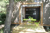 La Tour de France, Wood and Canvas Tent without bathroom facilities