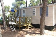 California camping village, Mobile Home with Terrace (rates for 4 people)
