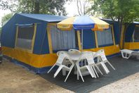 L'Ultima Spiaggia, Canvas Tent Without Bathroom Facilities (rates for 4 people)