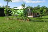 Camping Naturiste Le Champ de Guiral, Canvas Tent without bathroom facilities