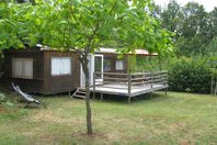 Camping Naturiste Le Champ de Guiral, Mobile Home without bathroom facilities