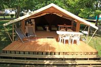 Le Ventoulou, Wood and Canvas Tent without bathroom facilities