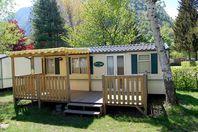 Le Val de Bonnal, Mobil Home Terrasse