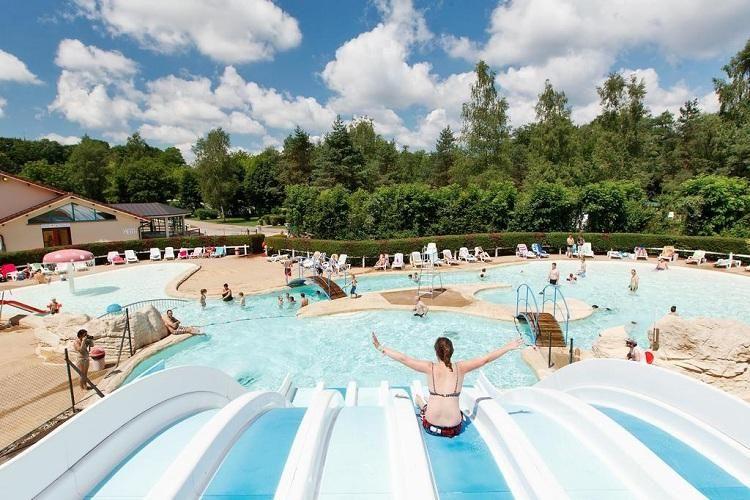 Camping Le Val de Bonnal - Parc aquatique