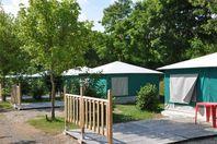 Les Calquières, Canvas Tent without bathroom facilities
